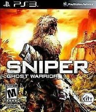 Sniper: Ghost Warrior USED SEALED (Sony Playstation 3) PS PS3 **FREE SHIPPING!!