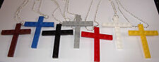 15 LEGO CROSS NECKLACE RELIGIOUS PARTY FAVOR EASTER FIRST COMMUNION CONFIRMATION