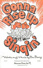 Don Besig Gonna Rise Up Singin Learn Sing Choir Vocal Piano SHEET Music Book