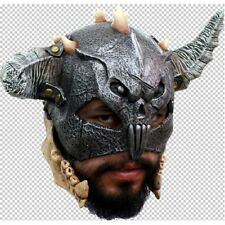 Mandible Warrior Chinless Latex Mask Fancy Dress Halloween Adult One Size