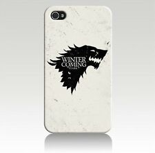 IPhone 6 & 6s GAME OF THRONES Inverno venendo Telefono Custodia Rigida Protettiva Regalo di Natale