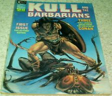 Kull and the Barbarians 1, VF- (7.5) 1975, 40% off Guide!