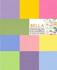 """30s Bella Solids Moda Quilt Fabric Charm Pack 42   5"""""""