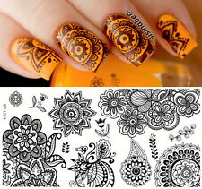 1pc Chic Flower Nail Art Stamping Template Image Plate BORN PRETTY BP-L014