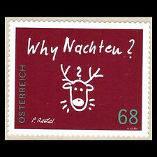 "Austria 2015 - Christmas ""Why Christmas"" Art - MNH"