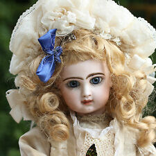 JUMEAU LEOPOLD LAMBERT c1886 AUTOMATION BISQUE DOLL TETE DEPOSE CLOSED MOUTH