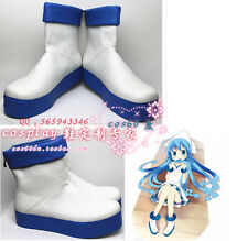 THE SQUID GIRL Ika Musume White Cosplay  boots S008