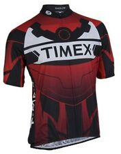 SUGOI Timex Custom Cycling Jersey Mens Large Road Bike Team Black Red White
