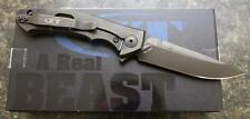 NEW KAI Zero Tolerance ZT 0450CF Flipper Folding Knife Titanium & S35VN +BONUS!!