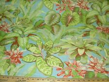"""~19 YARDS~TOMMY BAHAMA~""""BOTANICAL BLISS""""~COTTON UPHOLSTERY FABRIC FOR LESS~"""