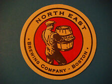 Beer Coaster ~ : ~ NORTH EAST Brewing Co ~ Alston (Boston), MA ** Open 1996-2001