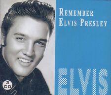 ELVIS PRESLEY * REMEMBER ELVIS PRESLEY * 3 CD * ROCK 'N' ROLL * TOP !!!