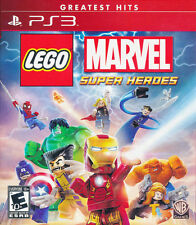 LEGO MARVEL SUPER HEROES PS3 NEW! IRON MAN, CAPTAIN AMERICA AVENGERS SPIDERMAN
