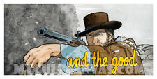 Original The Good, The Bad, and the Ugly Art Print Poster Clint Eastwood Western