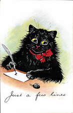 Louis Wain Cats. Just a Few Lines by Birn Bros. in Series 188.