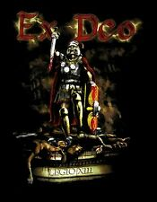 EX DEO cd lgo ARCHITECTS OF WAR / XIII CENTURION Official SHIRT MD New kataklysm