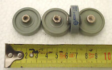 Russian ceramic doorknob capacitors 220 pF 3.5 kV. Set of 8. NOS