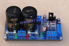 AC24V Rectifier Filter Power Supply Board Speaker Protection HIFI Audio Amplifer