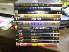 (13) Childrens Adventure DVD Lot: Disney National Treasure (4) Harry Potter MORE