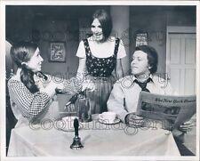 1972 Ann Harris Tony Harris Dean Goss Dinner Theatre 1970s Texas Press Photo