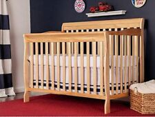 4 in 1 Convertible Crib Baby Toddler Full Size Bed Nursery Furniture New