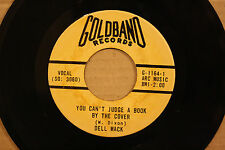 DELL MACK *You Can't Judge A Book* WAY LOVE GOES Rockabilly 45 on GOLDBAND 1164