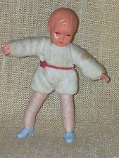 Muñecas Tube caco joven niño pequeño aprox. 7,5 cm biegepuppe Vintage