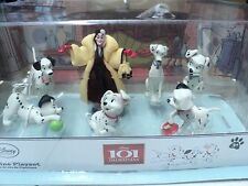 DISNEY 101 DALMATION FIGURE PLAYSET 1 SET OF 7 NEW IN BUBBLE PACK USE CAKE DECO