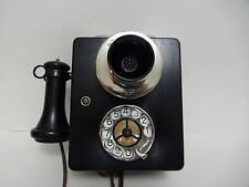 Automatic Electric telephone wall Antique Telephone Mercedes dial Rare