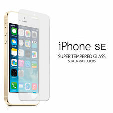 iphone SE 100% Tempered Glass Film Screen Protector For Apple Bundled