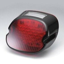 RED BLACK LAYDOWN TAILLIGHT LENS LED FOR HARLEY DAVIDSON SOFTAIL DYNA SPORTSTER