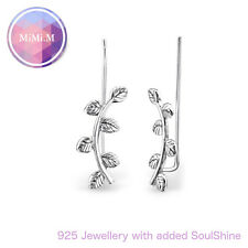 925 Sterling Silver Curved Ear Grecian Ear Pin Ear Climber - Gift packaged