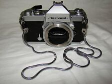 Rare Antique Nikon Nikkormat Camera Body NIKON NIKKORMAT Dent at Door & at botom