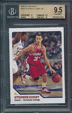 2008 SI For Kids Stephen Curry Rookie BGS 9.5 Gem Mint - b4 all other RCs (B&B)
