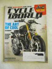 October 2014 Cycle World Magazine - Nine Bikes For 2015 (BD-26)