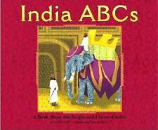 India ABCs: A Book About the People and Places of India (Country ABCs)-ExLibrary
