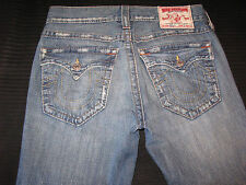 True Religion Jeans Men Billy w Flap Pockets Relaxed Bootcut  Distressed 31 x 29