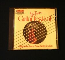 Latin Guitar Festival (CD 1992) Villa-Lobos, Lauro, Ponce, Barrios- Latin