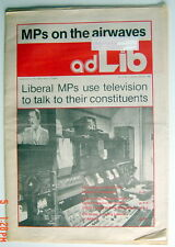 JANUARY-FEBRUARY 1982'S LIBERAL PARTY NEWSPAPER, ADLIB