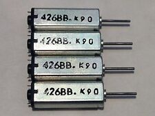 4 Pieces New Strong Magnetic High Speed Mini DC Motor  426BB K9C DC3.7V 25000RPM