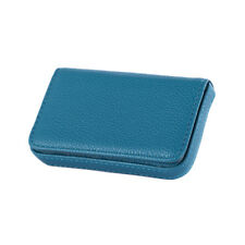 New Pocket PU Leather Business ID Credit Card Holder Case Wallet