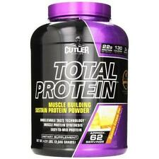 CUTLER NUTRITION TOTAL PROTEIN*CHOCOLATE BROWNIE*62 SERVINGS*4.55lbs*22g PROTEIN