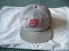 Vintage Punxsy chucks snapback trucker hat  gray groundhog day