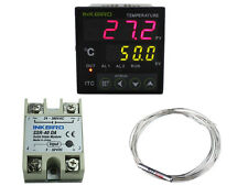 ITC-100VL Digital Pid Temperature Controller fan 12v - 24v + pt100 + 40 ssr