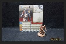 Zombicide Black Plague Kickstarter Exclusive Chauncey with card