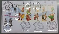 Traditional Dance Series 2 Malaysia special First Day Cover FDC 2016