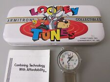 Vintage 1989 Armitron Collectibles Looney Tunes Watch - Bugs Bunny.