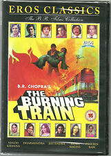 THE BURNING TRAIN - VINOD KHANNA - DHARMENDRA - NEW BOLLYWOOD DVD - FREE UK POST