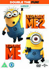 DESPICABLE ME 1 AND 2 BRAND NEW SEALED UK DVD BOXSET