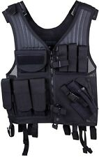 New! Blackhawk Omega Elite Vest Cross Draw/Pistol Mag Black Right Hand 30EV26BK
